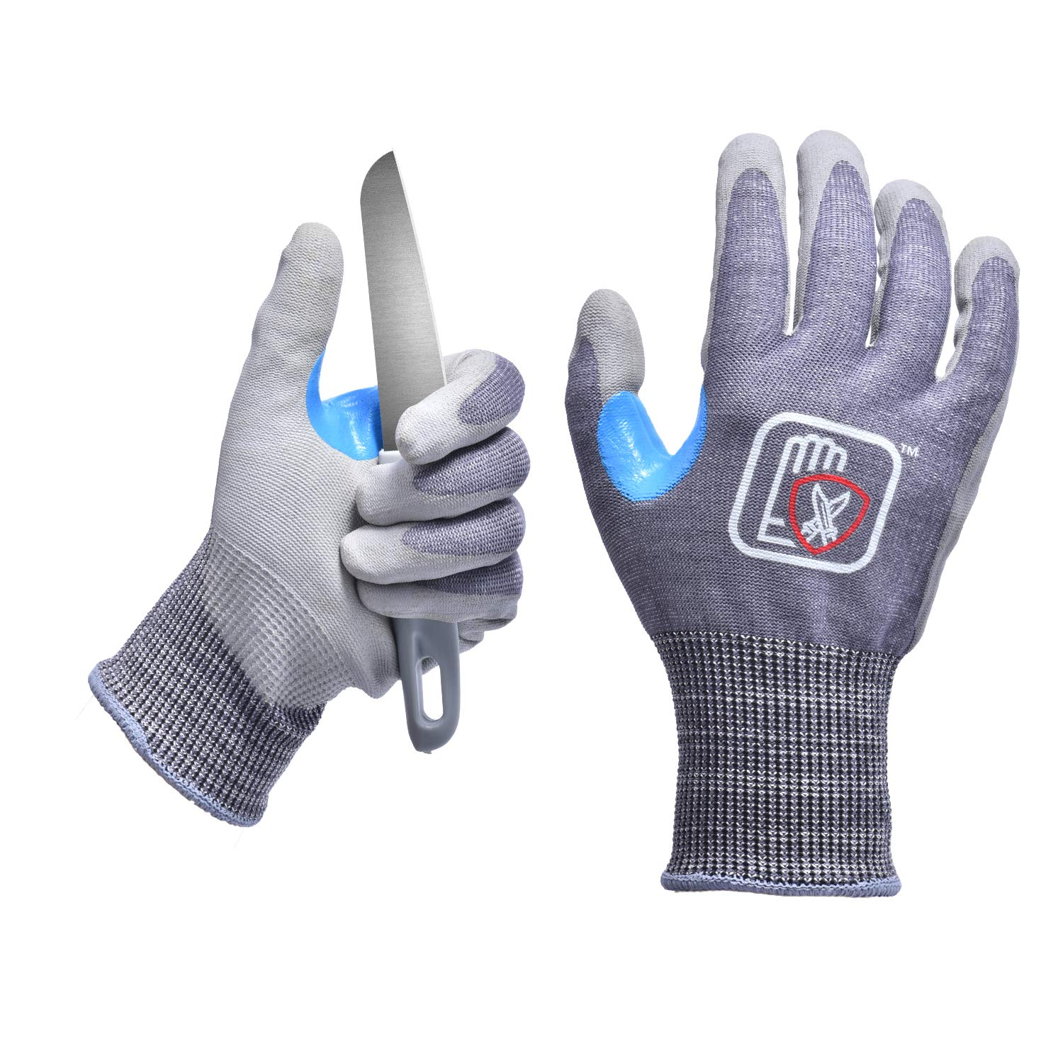 Manufacturers Wholesale CE Approved Black PU Coated Household Work Cut Resistant Safety <strong>Gloves</strong>