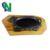 tableware and kitchenware cow shape cast iron sizzler pan with wooden base