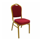 Cheap hotel wedding chair high quality dining metal banquet chair