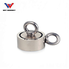 600kg pulling force strong power tow side fishing Neodymium permanent magnet,new product idea 2019 fishing magnet