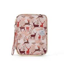 192/96 чехол-карандаш с отверстиями для школы, офиса, милый кот, медведь, пенал, кавайный картридж, коробка для девочек и мальчиков, большая сумк...(Китай)