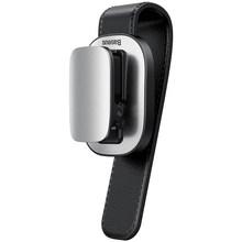 Автомобильный держатель для очков Baseus, зажим для хранения очков для Audi Bmw, аксессуары для салона автомобиля, держатель для солнцезащитных оч...(Китай)
