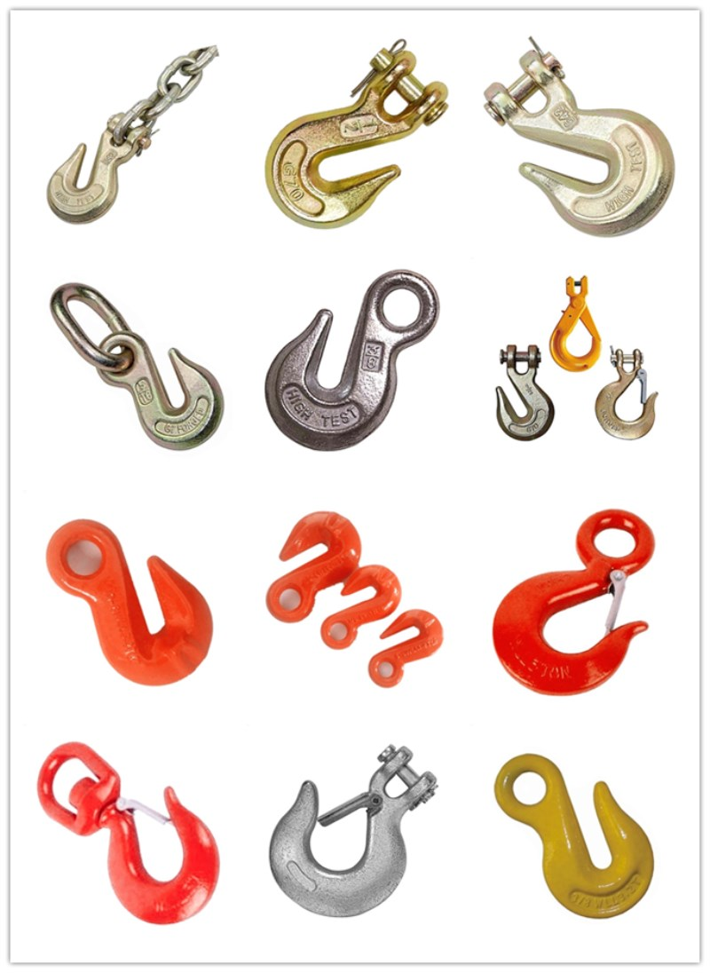 Wholesale Ship Lifting Eye Slip Chain Hook with Latch