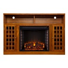 Insert Remote Fireplace Electric Tv Insert Freestanding Portable Heater Stove with Remote Control Decor Home Room Indoor Realistic Flame Electric Fireplace TV Stand