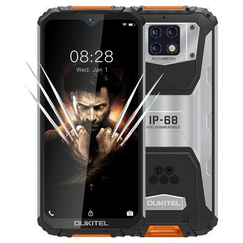 "OUKITEL WP6 6.3""19.5:9 Mobile Phone MT6771T Octa Waterproof Dust Shock Proof 9V/2A 10000mAh Battery 6G RAM 128G ROM Smartphone"