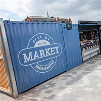 the modern prefabricated container convenience stores