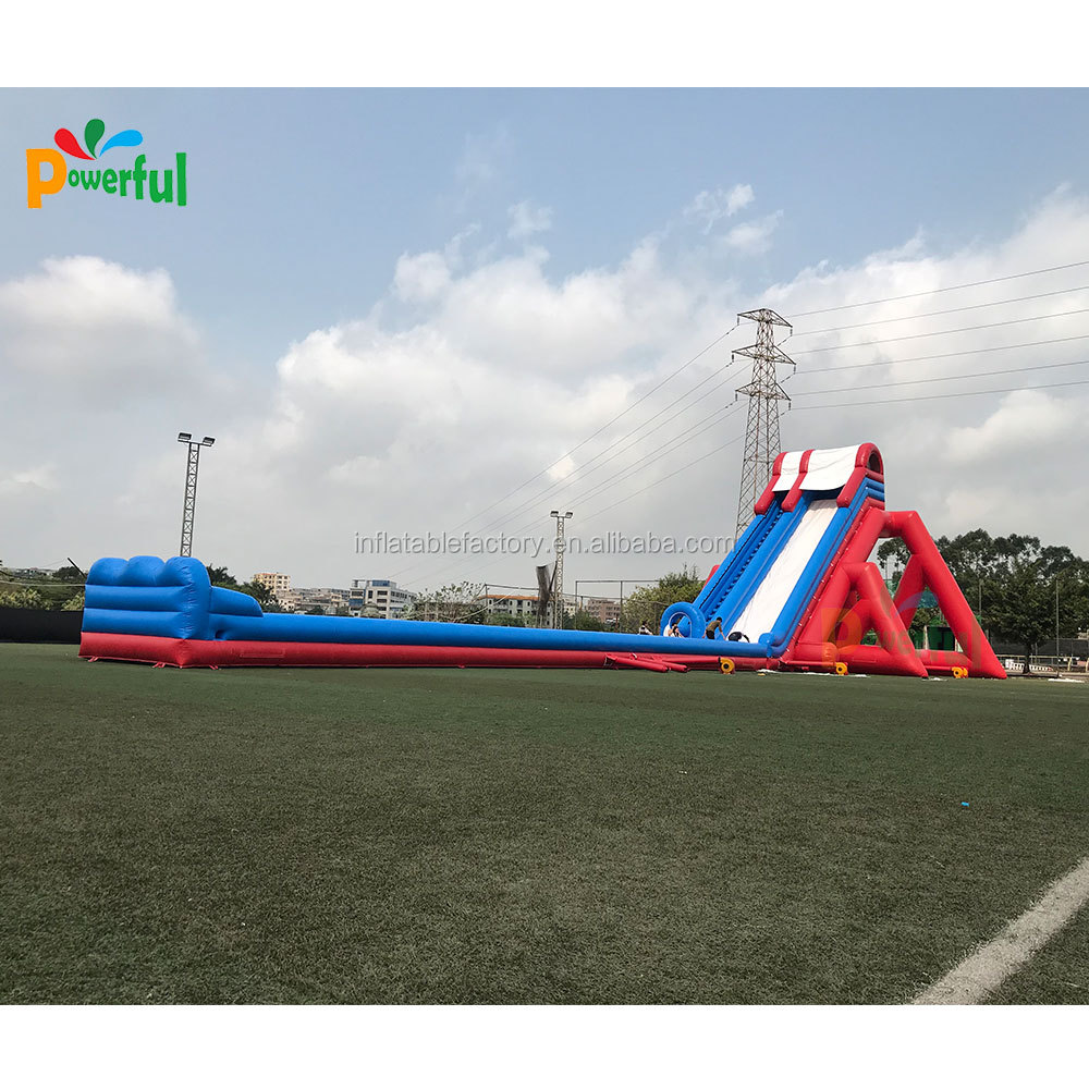 40m long big inflatable water slide for adults