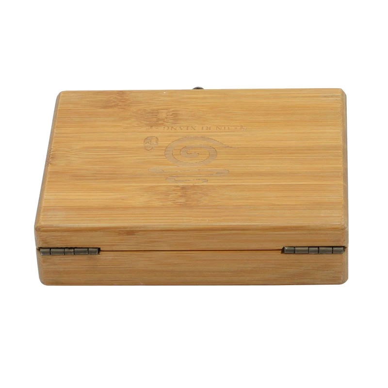 Wholesale FSC natural bamboo box gift box for 3 pcs electronic cigarette or pen