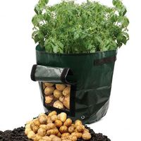 Vertical Fairy Garden Supplies 2019 New Plant Growing Bag DIY Potato Planting Flower Pot