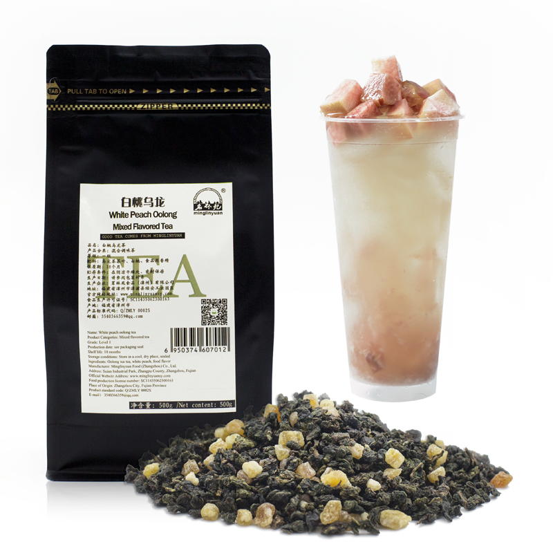 White peach oolong tea milk tea shop special tea ingredients - 4uTea | 4uTea.com