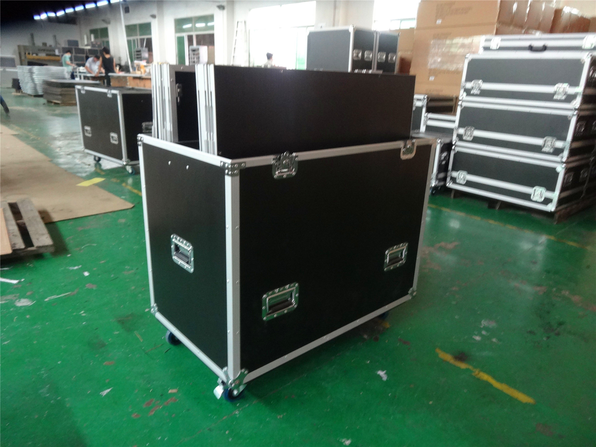 Automatic lock easy setup aluminum truss stage light frame for sale