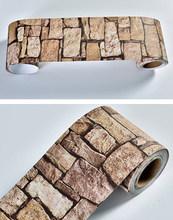 DIY Съемные самоклеящиеся обои на талию, водостойкие декоративные обои на стену, для гостиной, пола, коридора, плинтуса, стикер(Китай)