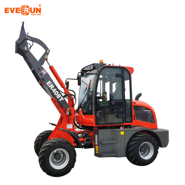 Hot Sale Factory Price Everun 0.8ton Chinese Articulated Mini Wheel Loader