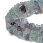 Natural Fluorite gemstone beads chips Loose Beads Strand DIY Jewelry Making diy bracelet beads