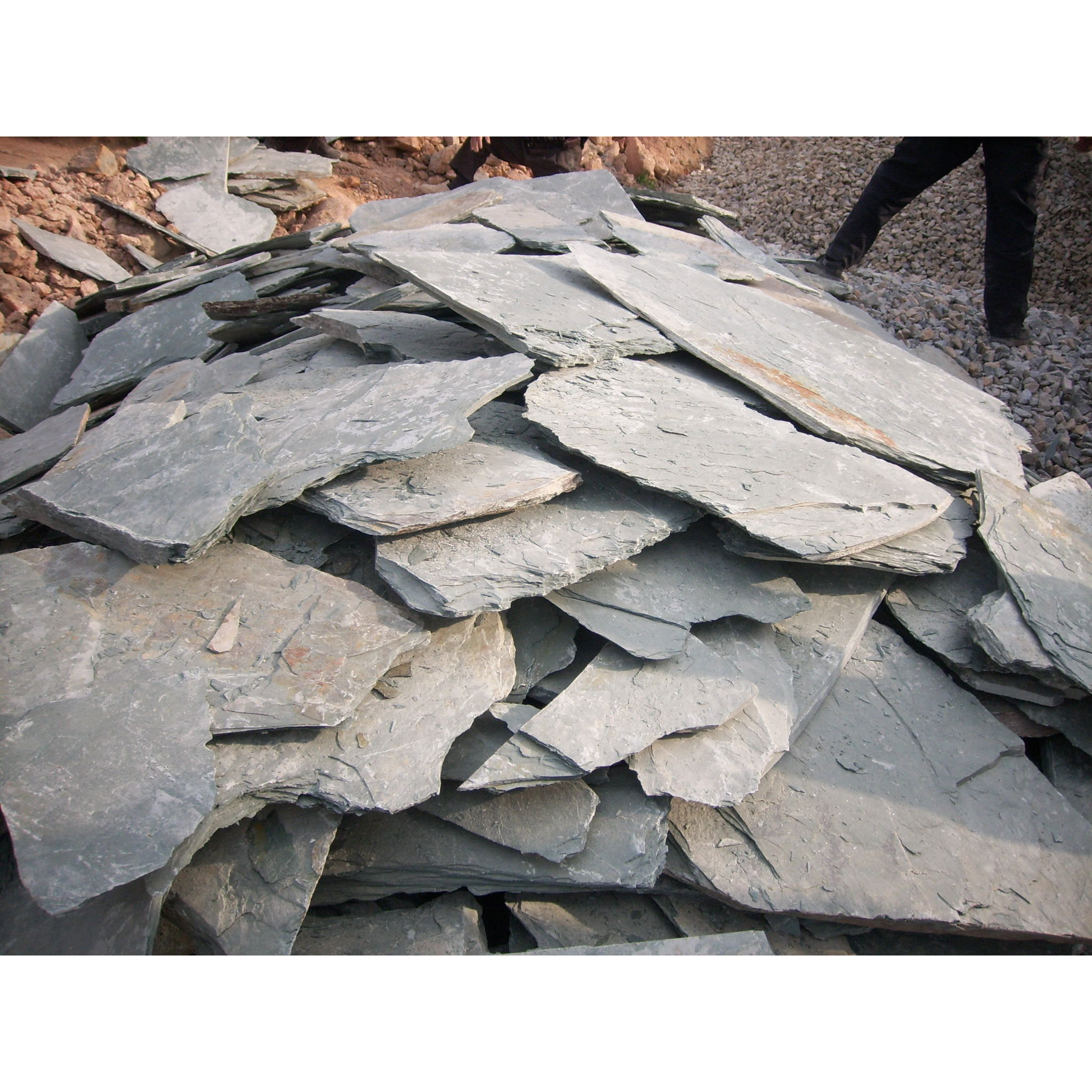 Slate Tile Landscaping Rock