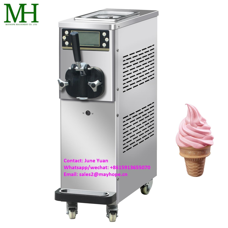 Commercial Liquid Nitrogen Ice Cream Machine Dragon Breath Ice Cream Equipment on Sale