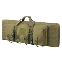 tactical double long rifle shooting bag pistol gun bag