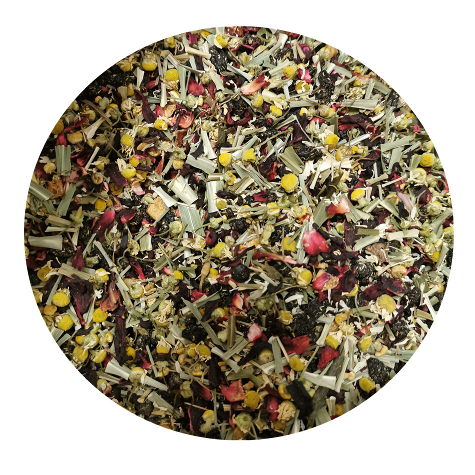 Loose Flavoured Tea Blending Tea with Herbal Blends and Fruit Tea Blend