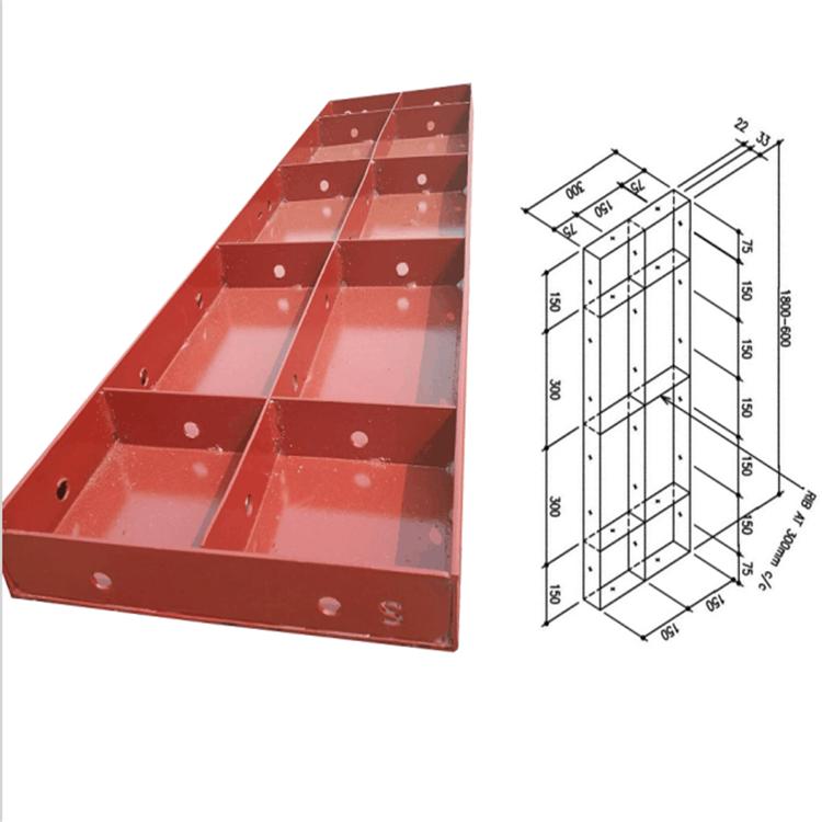 TSX-E-Concrete Formwork Manufacturers Slab Roof Column Mould Modular Scaffolding Q235 200mm Steel Wall Formwork