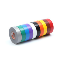 Various colors 600V Pipe Resistant Corrosion Insulation Tape for PVC Electrical