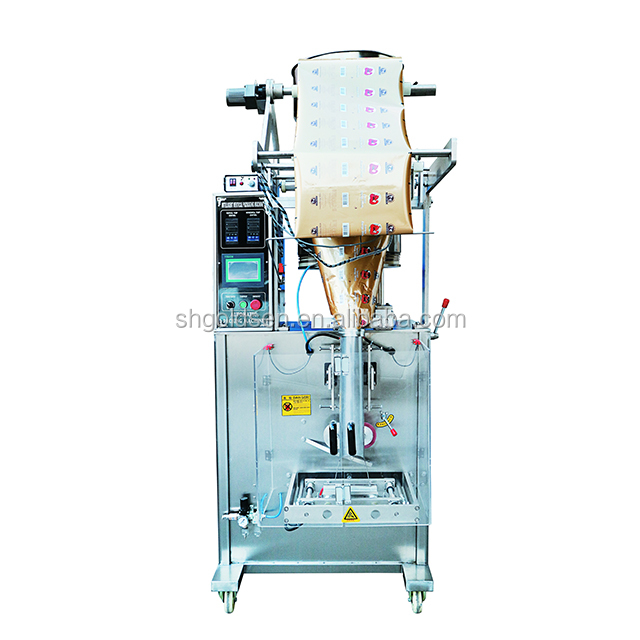 cheap small fully automatic 1kg 500g granulated white sugar Iodized salt packaging machine