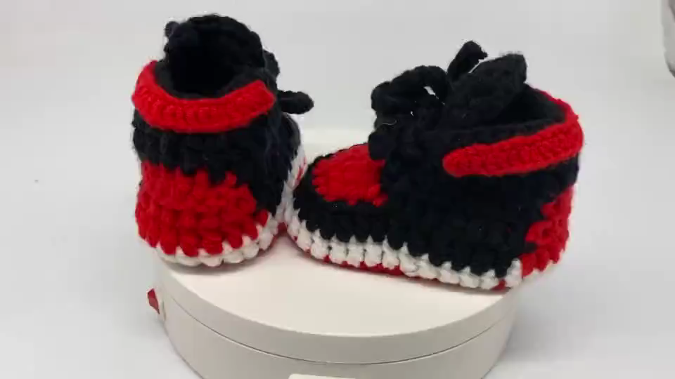 2020 Hot Sale Handmade Baby Boys Casual Shoes Crochet Toddler Girls Shoes