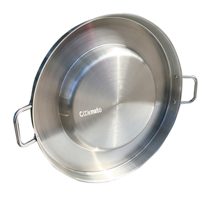 Hot sale Outdoor family stainless steel sauce disposable frying die casting double grill pan
