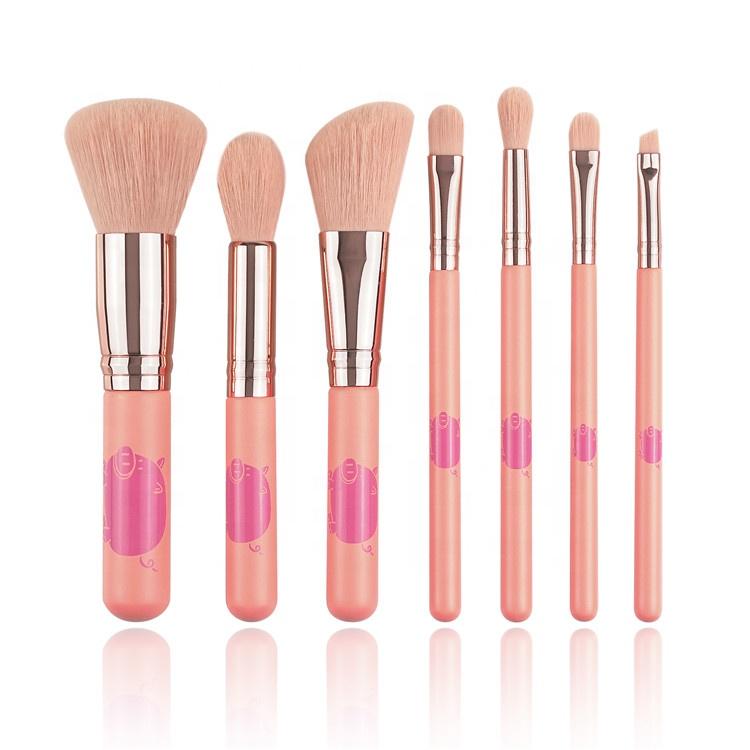 無料サンプルピンクファンコンシーラーアイライナーアイシャドウ財団プライマー化粧品美容製品