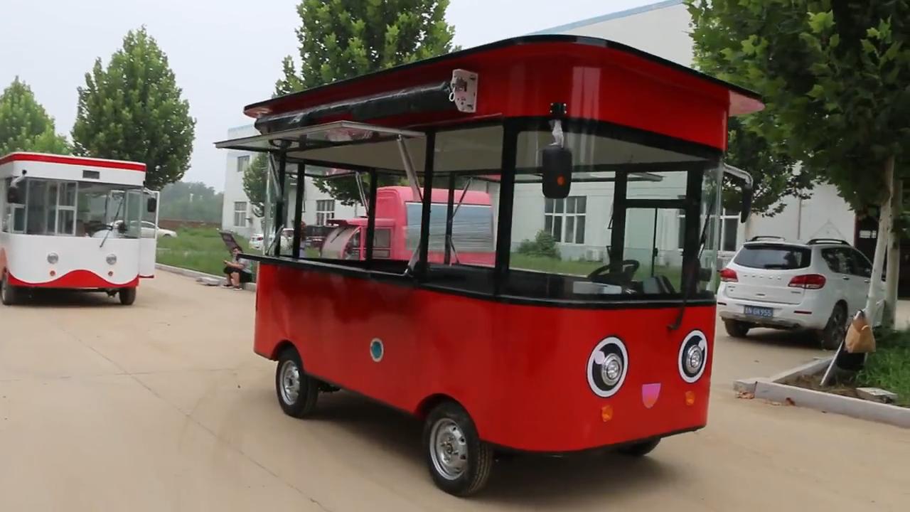multi-functional customers favorite cheep electric dining car ice cream food trucks equipment coffee street food cart