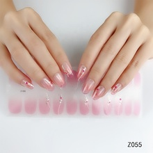 Nail Art Stencil Sticker Hoge Kwaliteit Nail Ontworpen Wrap Real Polish Patch