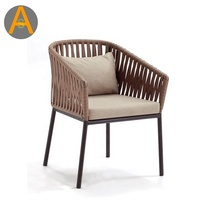 Garden hotel restaurant poolside cafe rope chair outdoor chair