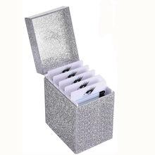 Eyelash Storage Box 5 Layers Makeup Organizer False Eyelashes Glue Pallet Holder Grafting Eyelashes Extension Makeup Tools(China)