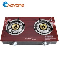 7mmTempered Glass Top Gas Cooker Stove 3D design