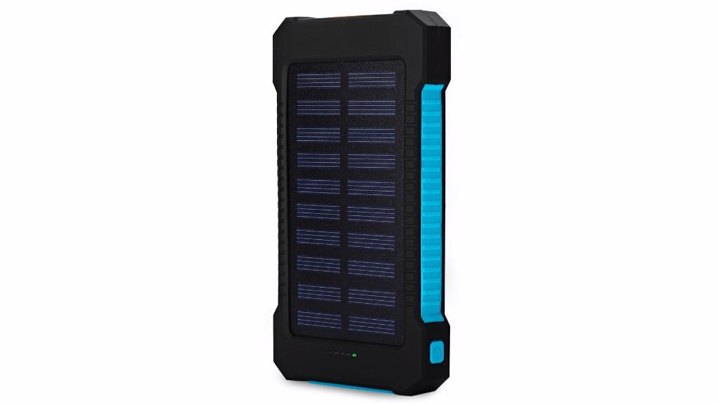 Waterproof Mini Menu outdoor Portable Solar Power Bank Charger