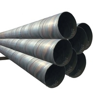 API 5L Pipeline DN900 Large Diameter SSAW 36 inch Steel Pipe With Spiral Welding Line