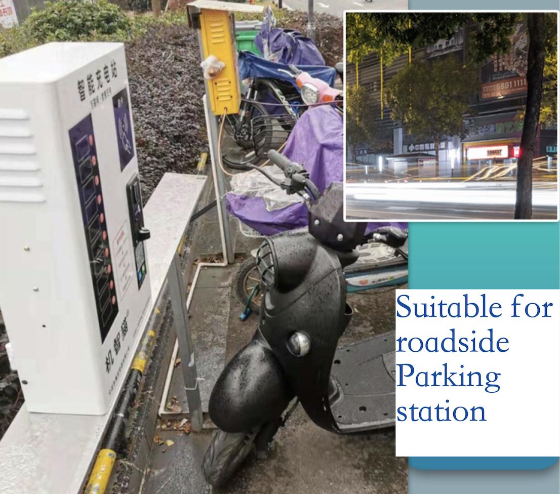 Gettoni Pubblico Di Emergenza E-Bike di ricarica mucchio per la Bicicletta Elettrica di scooter stazione di ricarica