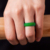 Comfortable Durable Men Women Wedding Band Silicone Rings