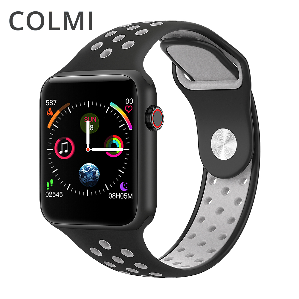 COLMI M33 full touch screen heart rate blood pressure smart watch for <strong>iphone</strong>