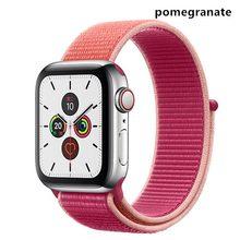 Классические нейлоновые ремешки для Apple Watch Series 5 4 3 2 1, дышащие сменные ремешки для Iwatch Edition 38 40 42 44 мм, ремешки для часов(Китай)
