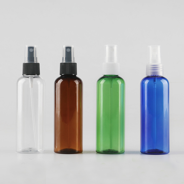 100ml Empty Round Plastic Spray Bottles