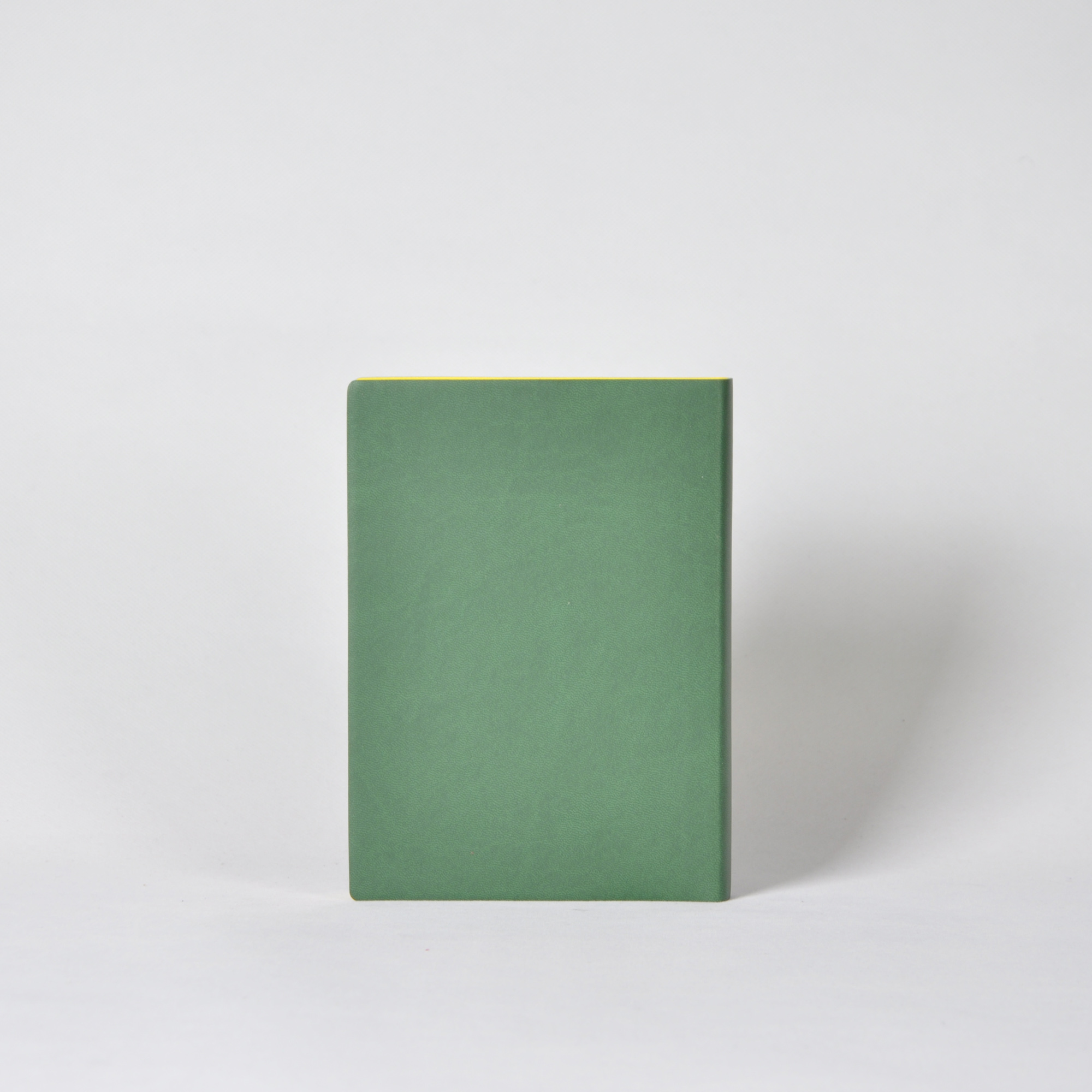 dark green pu leather soft cover planners and notebooks custom