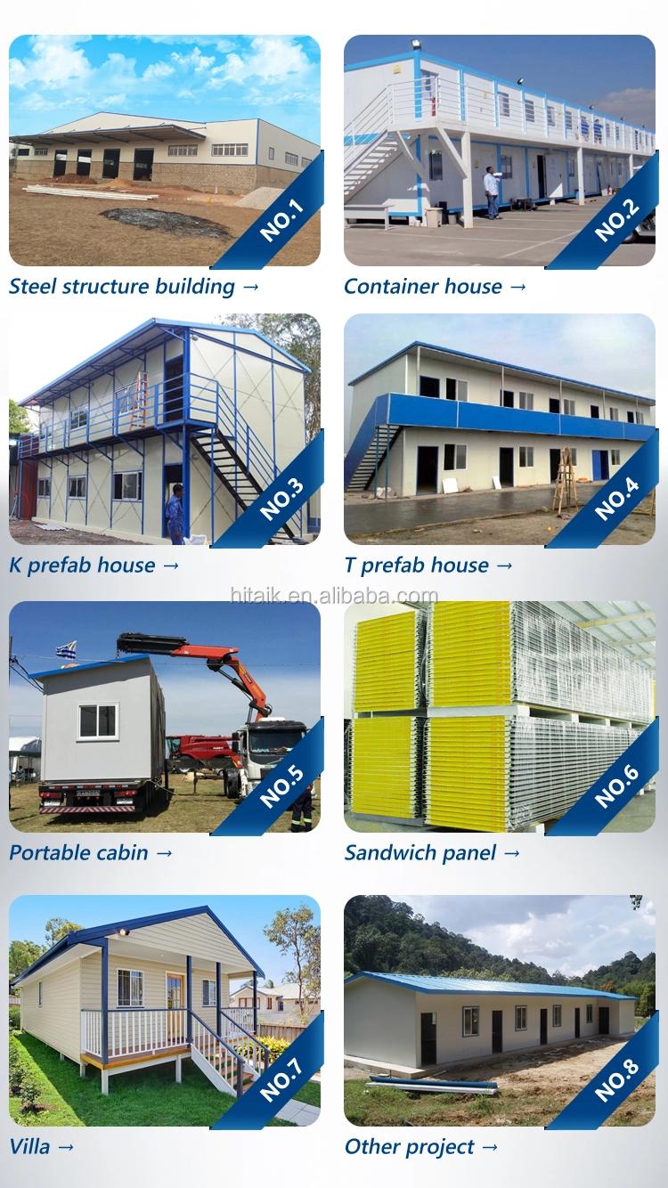 Có thể gập lại kết cấu thép modular nhà cho xây dựng trang web