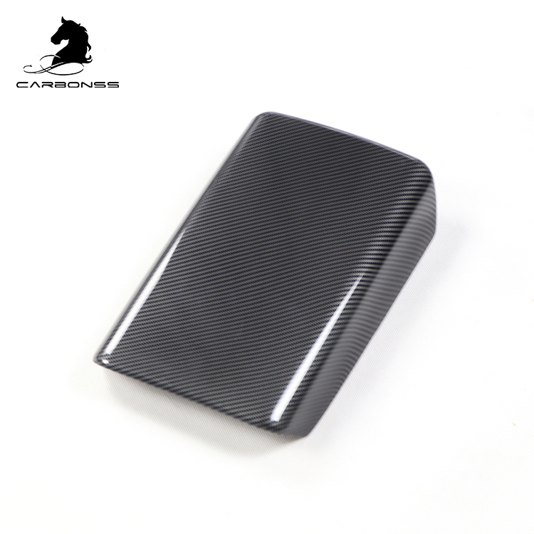 Carbonss <strong>Car</strong> <strong>Center</strong> <strong>Console</strong> Wrap Kit Armrest Box Cover for Tesla Model 3
