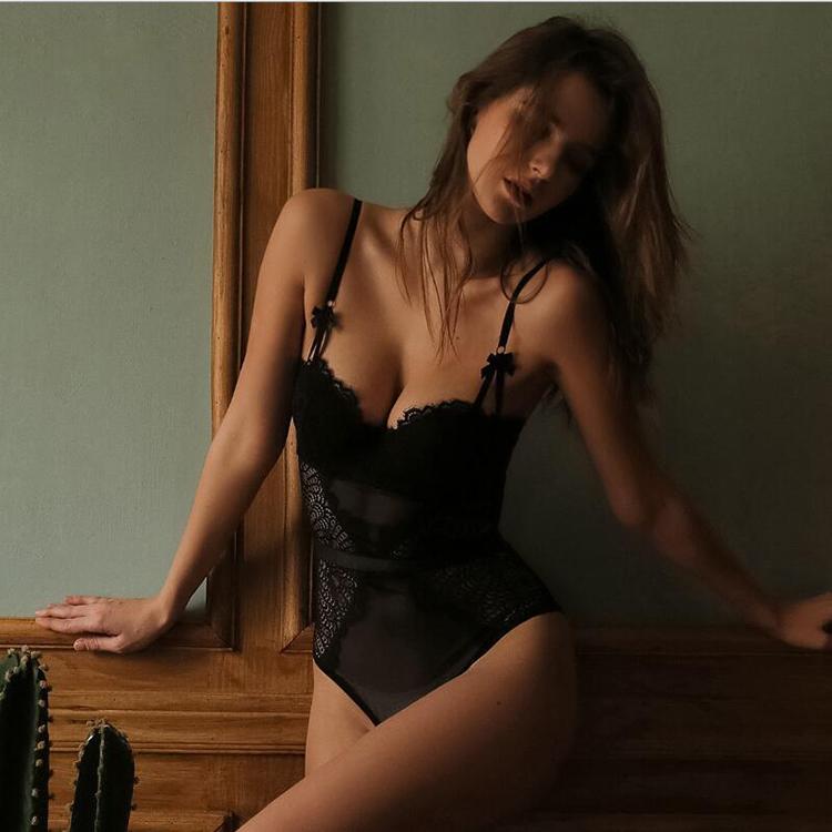 one piece lace lingerie