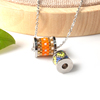 Fashion handmade miyuki beads charm for jewelry making stainless steel charm murano