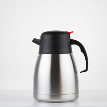 1200 ml Custom popular insulated thermal carafe stainless steel hot water coffee pot