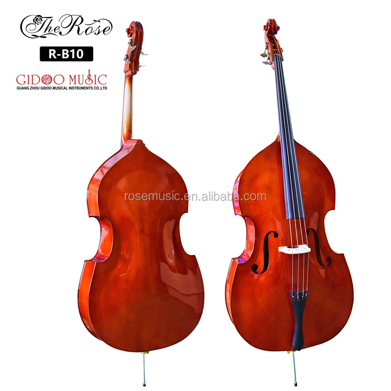Factory  Price OEM Brand Upright Bass  3/4 Plywood Maple  Double Bass Wih Case