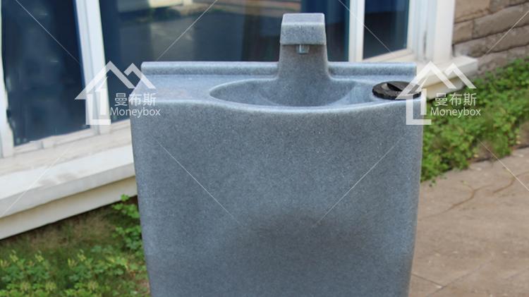 Móvil de plástico al aire libre lavado a mano de mano portátil estación de lavado Con Pedestal