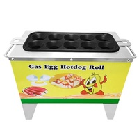 commercial hot dog machine /hotdog egg roll maker /snack food making machine