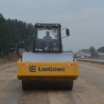 Cheap Price of Mini Road Roller Compactor Liugong 20 ton Vibratory Roller CLG6122E for Sale